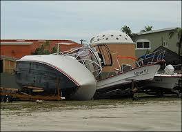 damaged boats