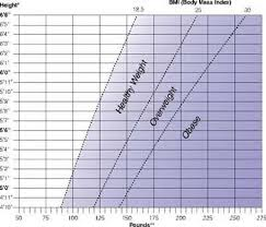 bmi scale for women
