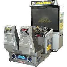 sit down arcade machine