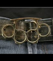 knuckle belt buckle
