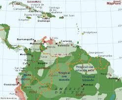 mapa climatico de venezuela