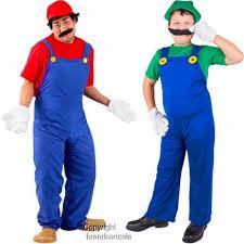 mario bro costume