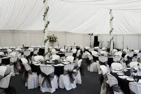 black and white table decorations