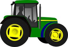 farm tractor clip art