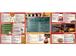 restaurant menu picture