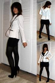 black and white party outfits