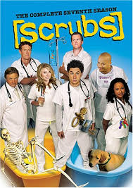 scrubs season 7 dvds