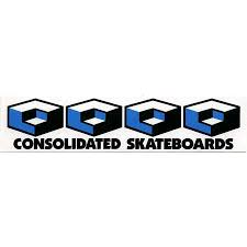 consolidated skateboard deck