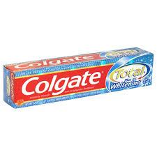 colgate total whitening gel
