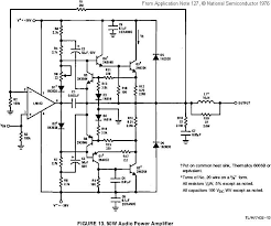 audio amplifier schematic