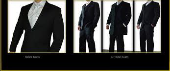 formal menswear