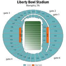 liberty bowl seating chart