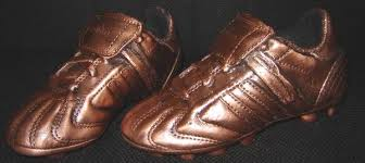 old soccer shoes