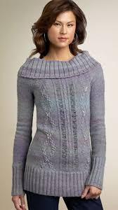 drape neck sweater
