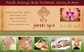 massage advertising
