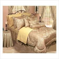 gold bed linens