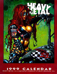 heavy metal calendar