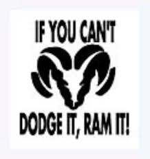 dodge decals