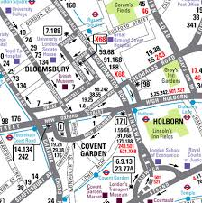 bus map of london