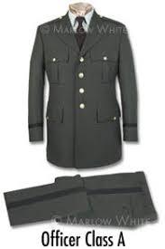 army green dress uniform