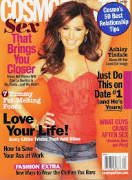 ashley tisdale cosmo cover