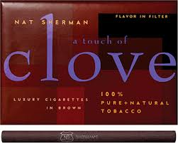 cloves cigarettes