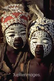 african tribal face painting