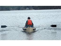 rowing canoes