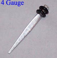 4 gauge ear rings