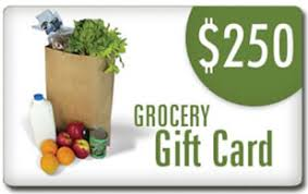 groceries gift card