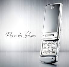 lg shine cell phones