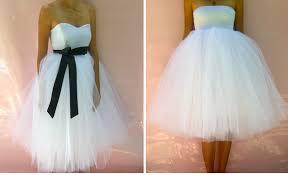 short tulle dresses
