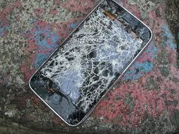 cracked ipod touch
