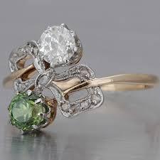 demantoid ring