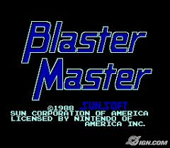 master blaster video game