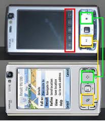 nokia n95 touch screen
