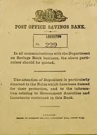 post office savings bank