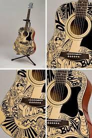 guitar art pictures
