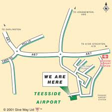 map of teesside