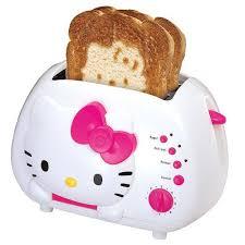 hello kitty toasters
