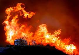 2008 california wild fires