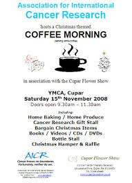 coffee morning posters