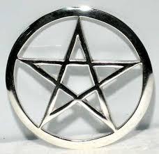 silver pentagrams