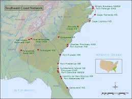 map of southeast coast