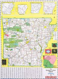 arkansas state maps