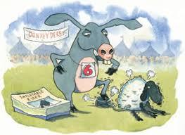 blow up donkey