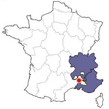 chateauneuf du pape map