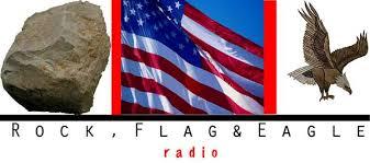rock flag eagle