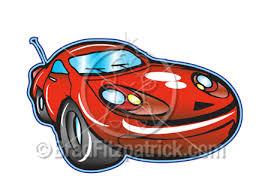 sport car cartoon