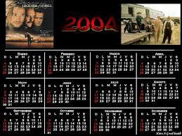 calendario del 2004